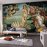 Wall Murals: Birth of Venus, Botticelli 2