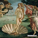 Wall Murals: Birth of Venus, Botticelli 3