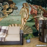 Wall Murals: Birth of Venus, Botticelli 4