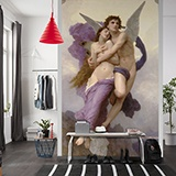Wall Murals: The abduction of Psyche, Bouguereau 2