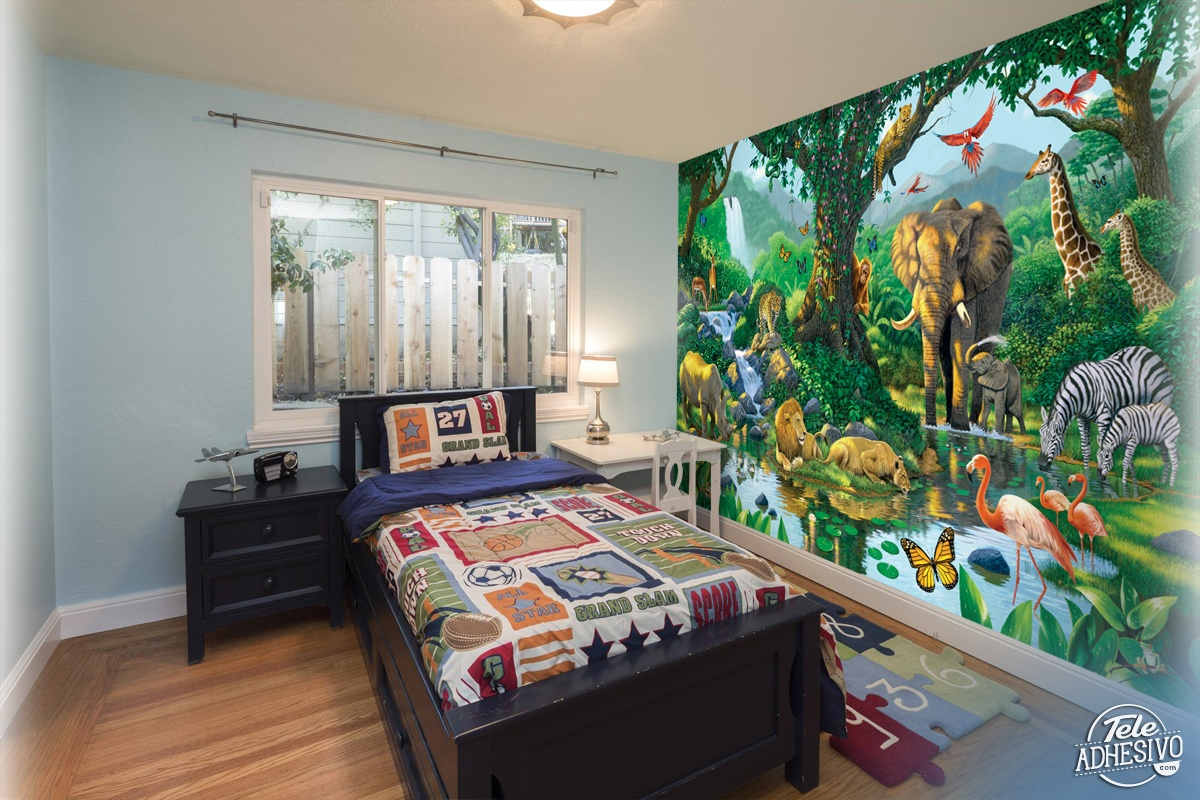 Wall Murals: Animals in harmony