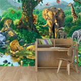 Wall Murals: Animals in harmony 3