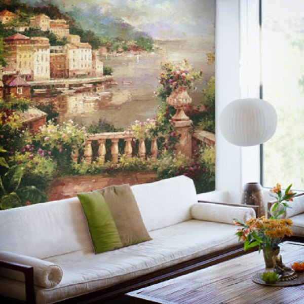 Wall Murals: Prelude to Summer (Peter Bell)