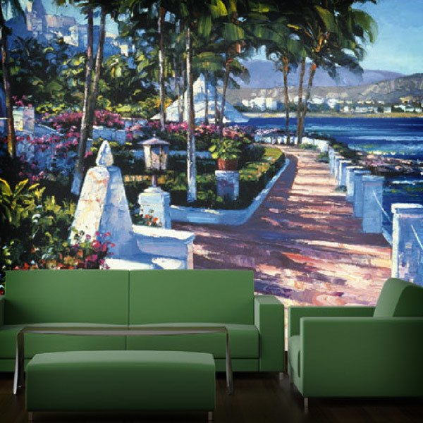 Wall Murals: Boardwalk, Howard Behrens