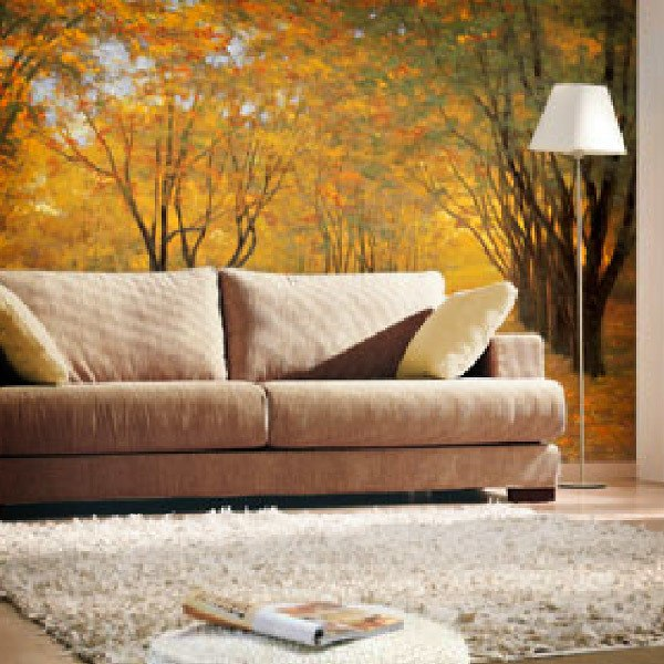 Wall Murals: Golden Autumn (Diane Romanello)