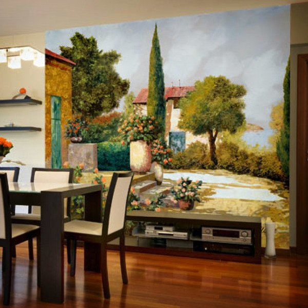 Wall Murals: The cypress, Guido Borelli