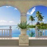 Wall Murals: Small island in the Caribbean 3