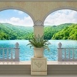 Wall Murals: Lake and vegetation 3