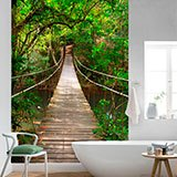 Wall Murals: Bridge in the Amazon 2
