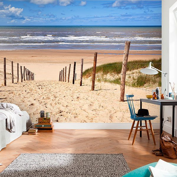 Wall Murals: Path to the beach 0
