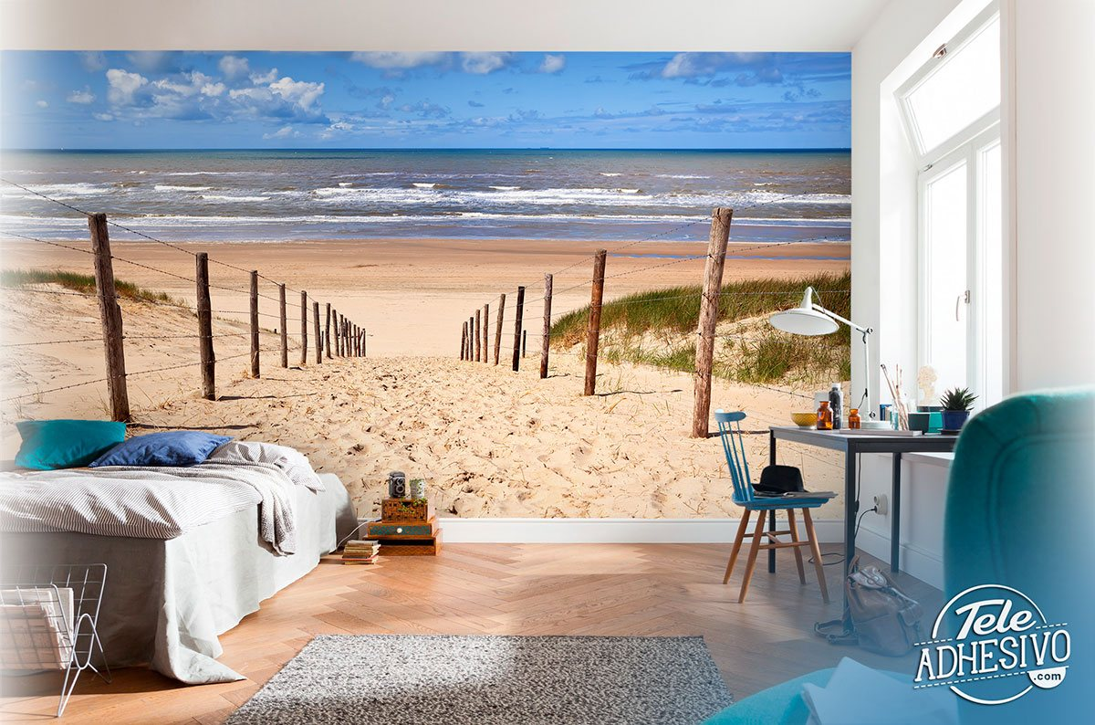 Wall Murals: Path to the beach