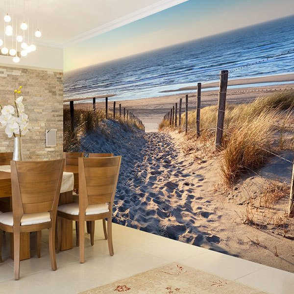Wall Murals: On the way to the beach 0
