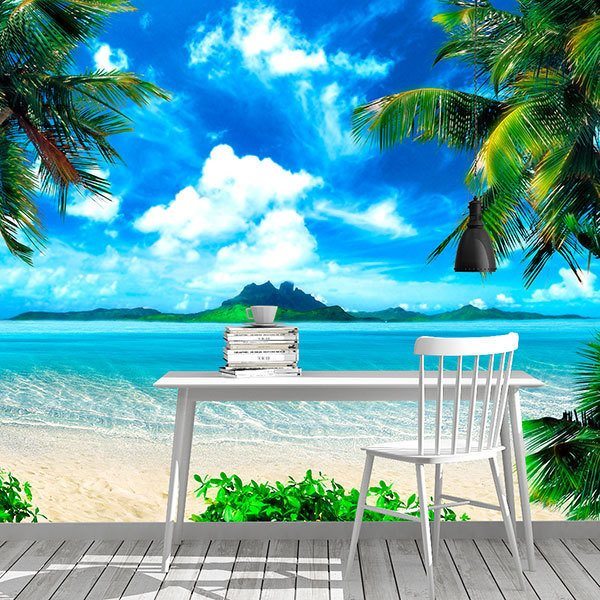 Wall Murals: Caribbean Treasury