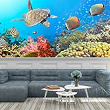 Wall Murals: Panoramic under the sea 2