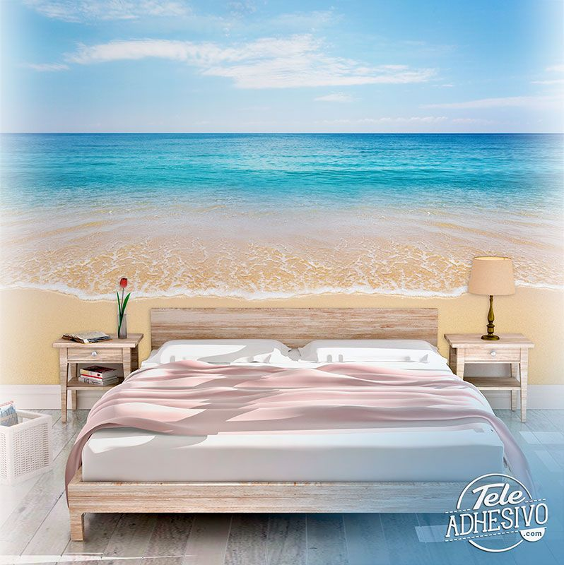 Wall Murals: Peace on the beach