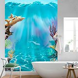 Wall Murals: Coral under the waves 2