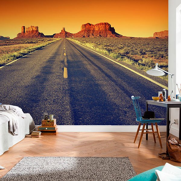 Wall Murals: Route to the Grand Canyon