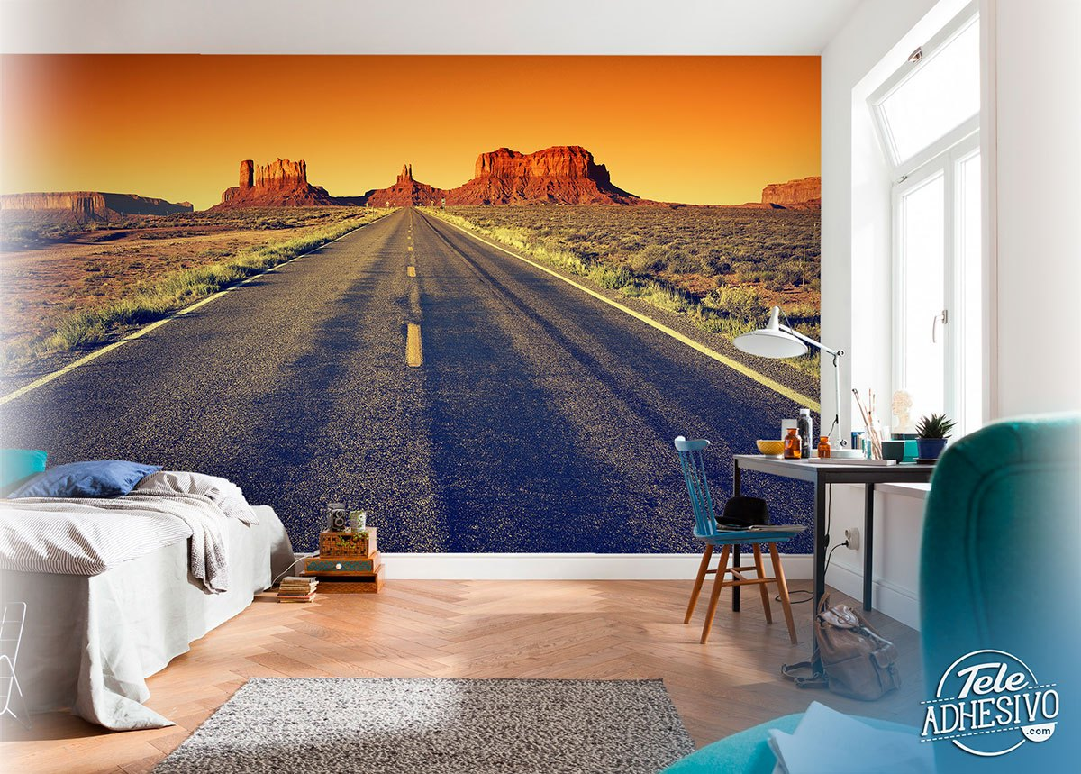 Wall Murals: Route 66 to the Grand Canyon