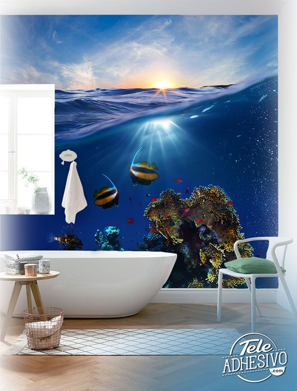 Wall Murals: Seabed Corals