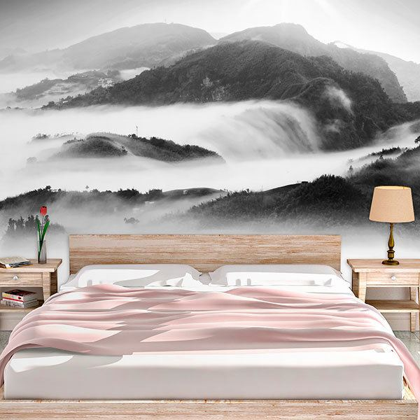 Wall Murals: Fog in the mountains 0