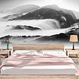 Wall Murals: Fog in the mountains 2