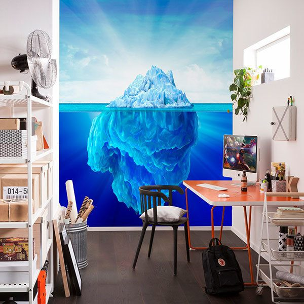 Wall Murals: Floating Iceberg