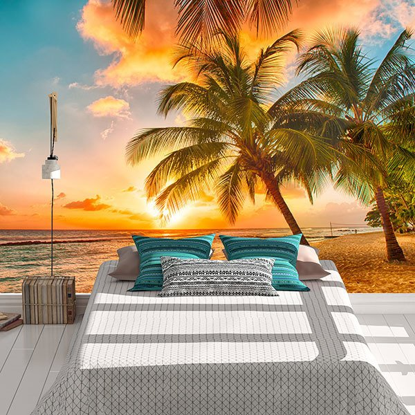 Wall Murals: Hawaiian Beach