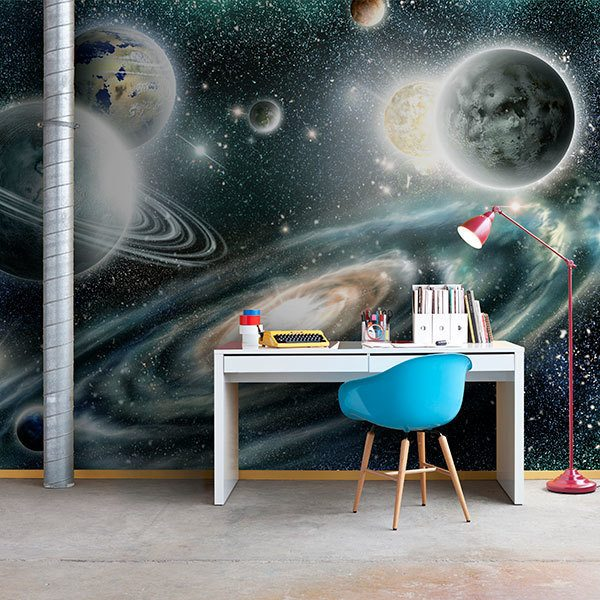 Wall Murals: Planets in the Universe