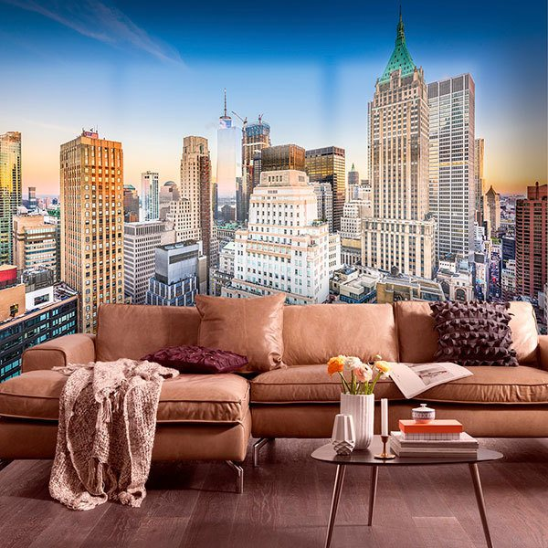 Wall Murals: Manhattan Skyscrapers 0