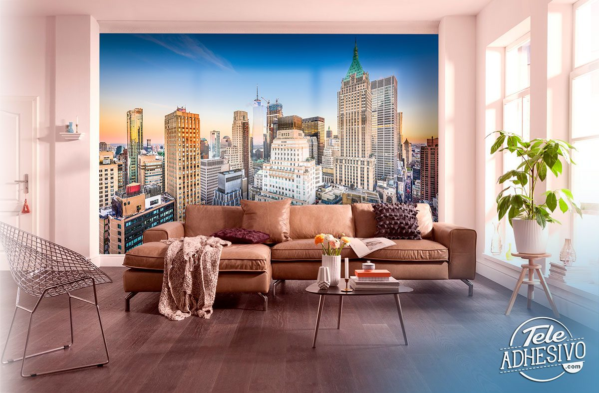 Wall Murals: Manhattan Skyscrapers
