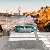 Wall Murals: Golden Gate Bridge of San Francisco 2