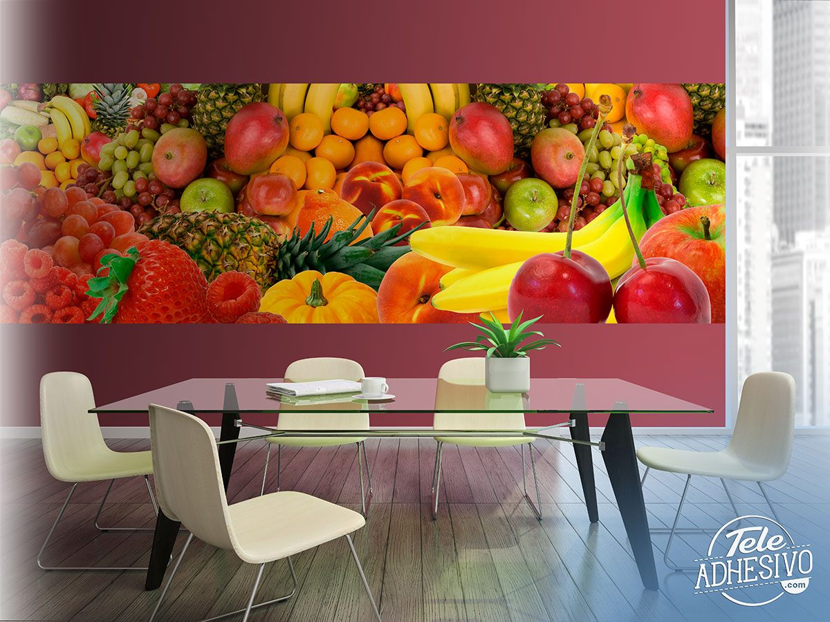 Wall Murals: Fruit