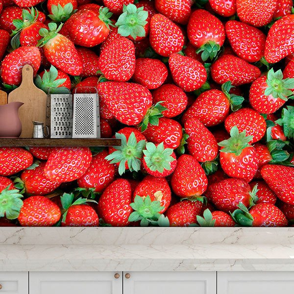 Wall Murals: Strawberries 0