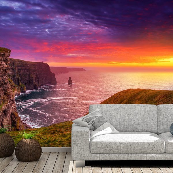 Wall Murals: Cliffs of Moher, Ireland