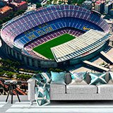 Wall Murals: Aerial view of Camp Nou 2