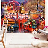 Wall Murals: Collage British 2