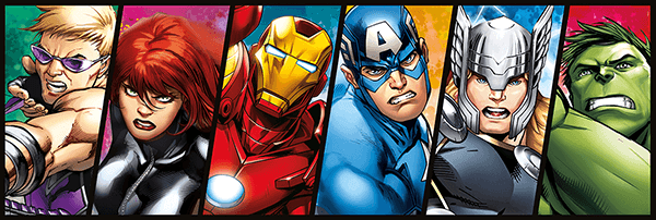 Stickers for Kids: Avengers