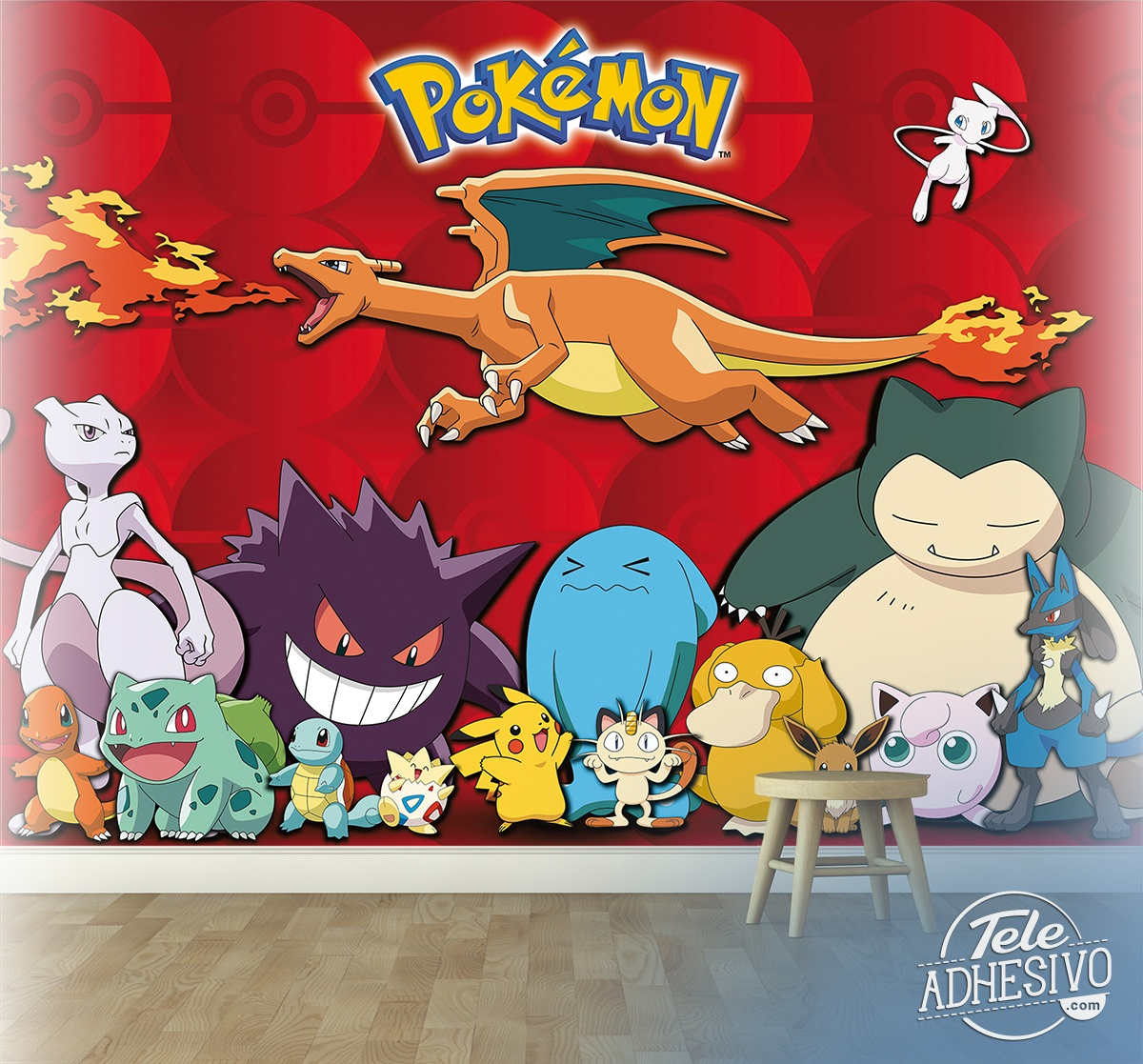 Wall Murals: Pokemon