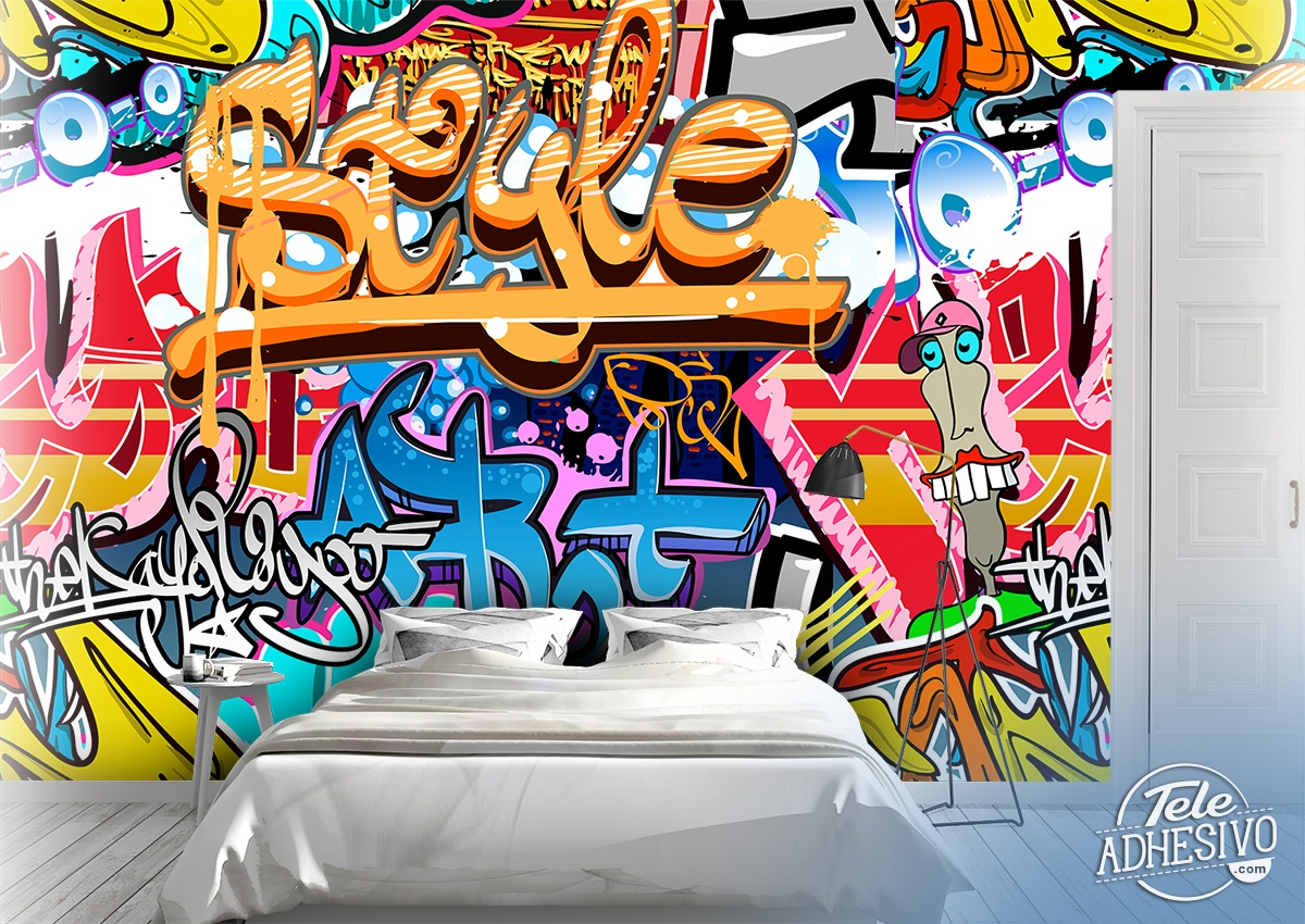 Wall Murals: Graffiti