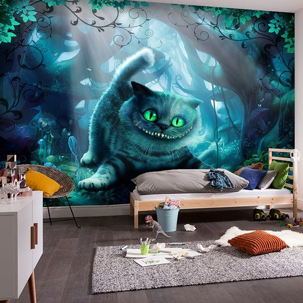 Wall Murals: Wonderland Cat 0