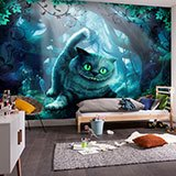 Wall Murals: Wonderland Cat 2