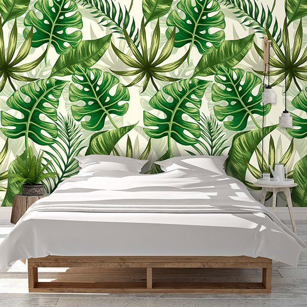 Wall Murals: Printed of Ferns