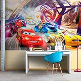 Wall Murals: Cars race, Disney 2
