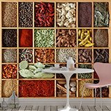 Wall Murals: Collage Spice Collection 2