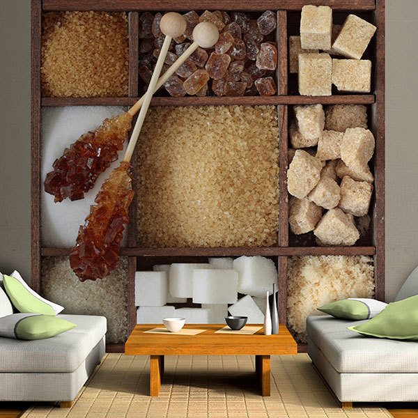 Wall Murals: Collage Sugar Assortment