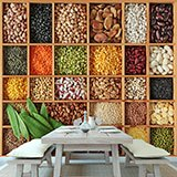 Wall Murals: Collage Legumes 2