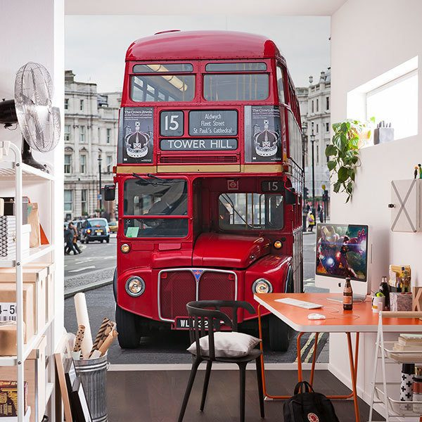 Wall Murals: Routemaster Bus - Tower Hill 0