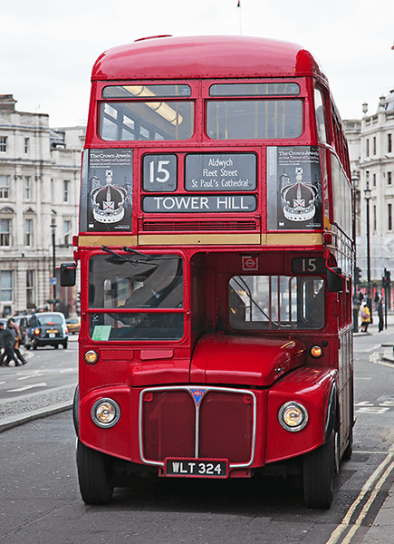 Wall Murals: Routemaster Bus - Tower Hill
