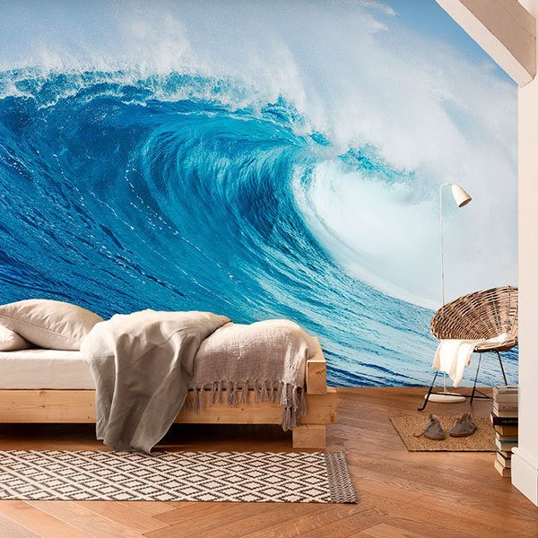 Wall Murals: Big wave in Australia