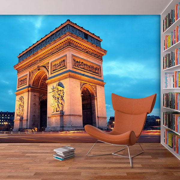 Wall Murals: Triumphal Arch of Paris